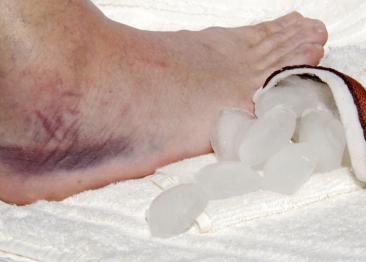 soft tissue injury first aid
