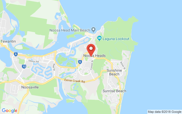 Google map image of location Lanyana Way, Noosa Heads QLD 4567, Australia